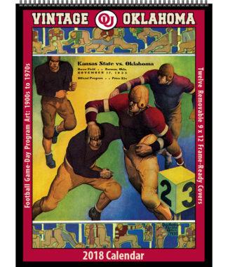 2018 Vintage Oklahoma Sooners Football Calendar