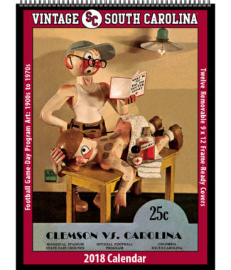2018 Vintage South Carolina Gamecocks Football Calendar