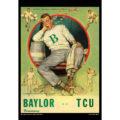 2018 Vintage TCU Horned Frogs Football Calendar October