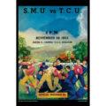 2018 Vintage TCU Horned Frogs Football Calendar September