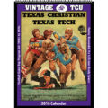 2018 Vintage TCU Horned Frogs Football Calendar