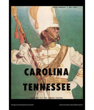 2018 Vintage Tennessee Volunteers Football Calendar March
