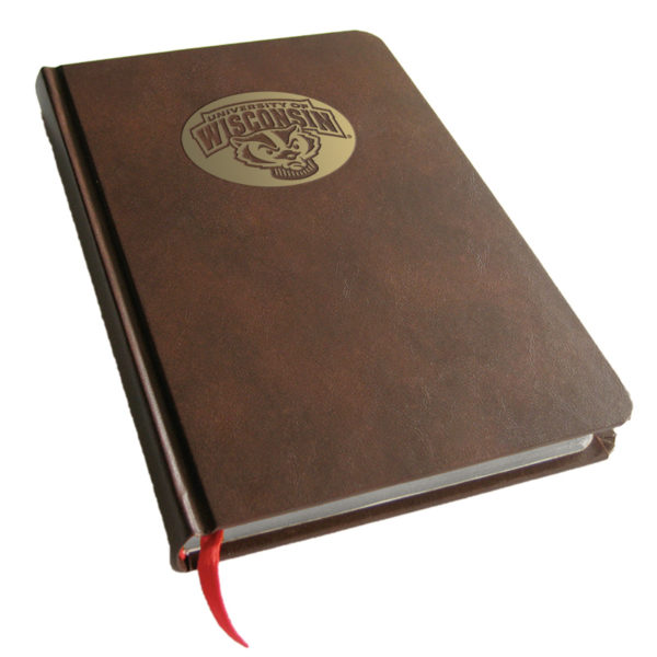 Wisconsin Badgers Foil Stamped Journal Book