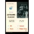 2018 Vintage Kansas Jayhawks Basketball Calendar April