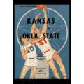 2018 Vintage Kansas Jayhawks Basketball Calendar September