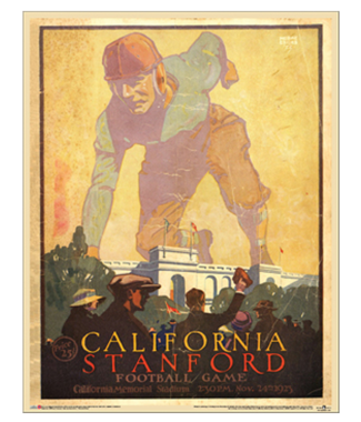 Vintage College Football Posters