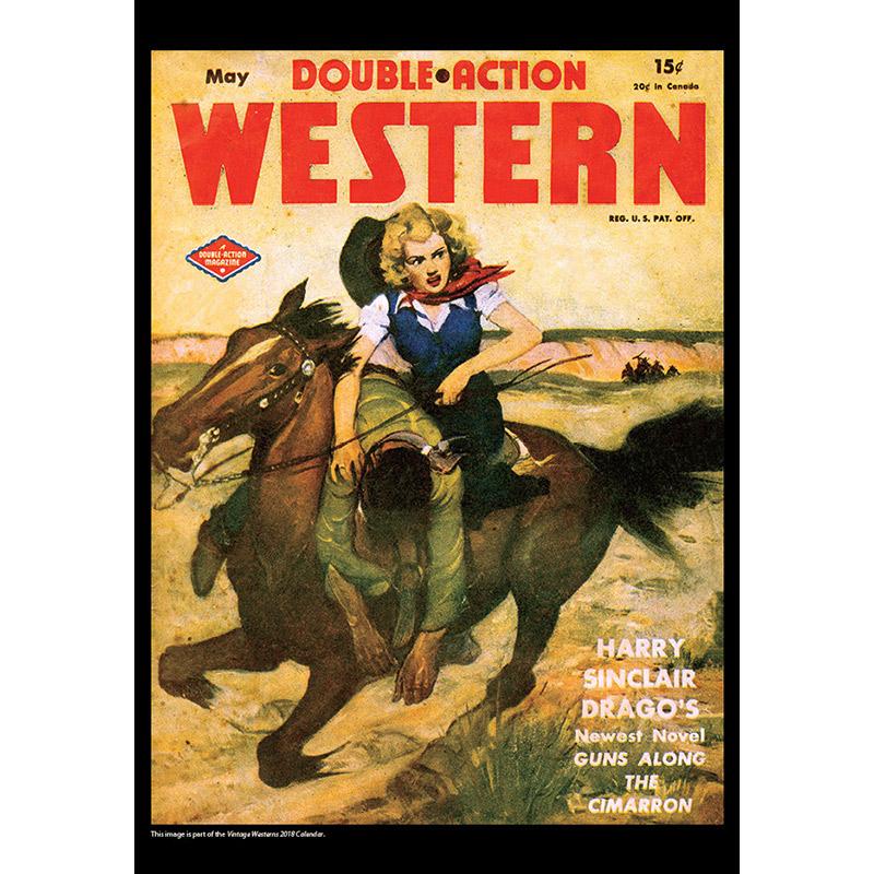 2018 Vintage Westerns Calendar November Image