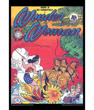 2108 Vintage DC Comics Calendar October Image