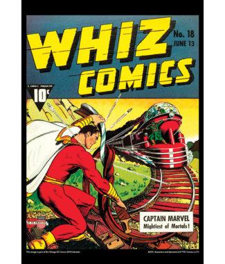 2108 Vintage DC Comics Calendar November Image