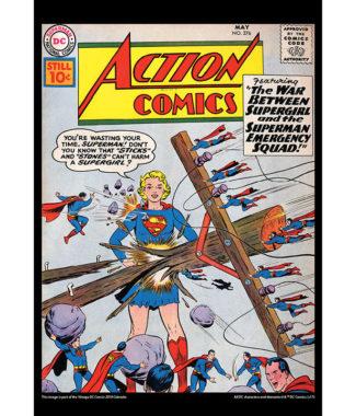 2108 Vintage DC Comics Calendar March Image
