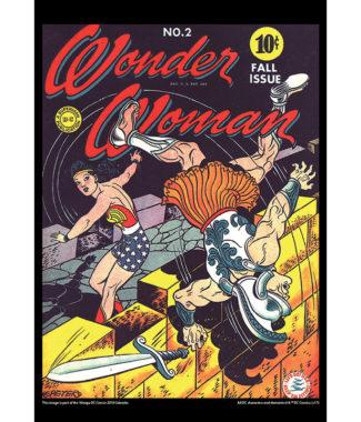 2108 Vintage DC Comics Calendar April Image