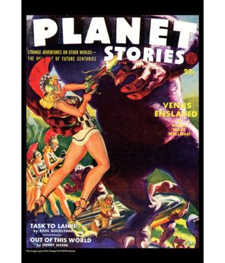 2018 Vintage Sci-Fi Calendar January Image