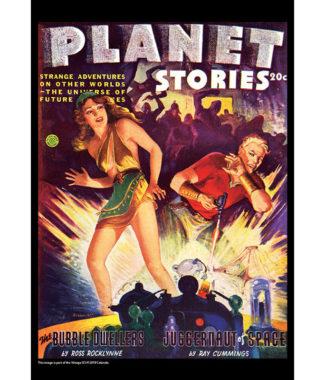 2018 Vintage Sci-Fi Calendar October Image