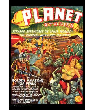 2018 Vintage Sci-Fi Calendar May Image