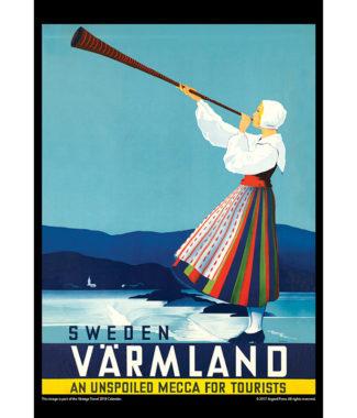 2018 Vintage Travel Calendar November Image