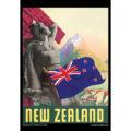 2018 Vintage Travel Calendar August Image