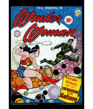 2018 Vintage Wonder Woman Calendar May Image