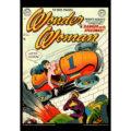 2018 Vintage Wonder Woman Calendar August Image