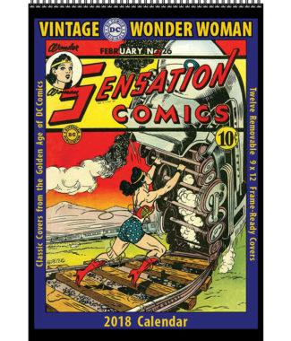 2018 Vintage Wonder Woman Calendar