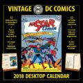 2018 Vintage DC Comics Desktop Calendar