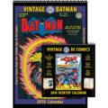 2018 Vintage Batman and Vintage DC Comics Desktop Combo
