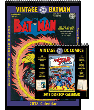 2018 Vintage Batman and Vintage DC Comics Desktop Combo