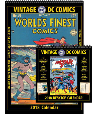 2018 Vintage DC Comics and Vintage DC Comics Desktop Combo